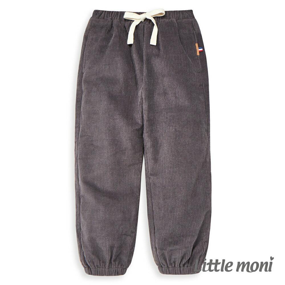 Little moni燈心絨束口長褲 -灰色(好窩生活節) 0