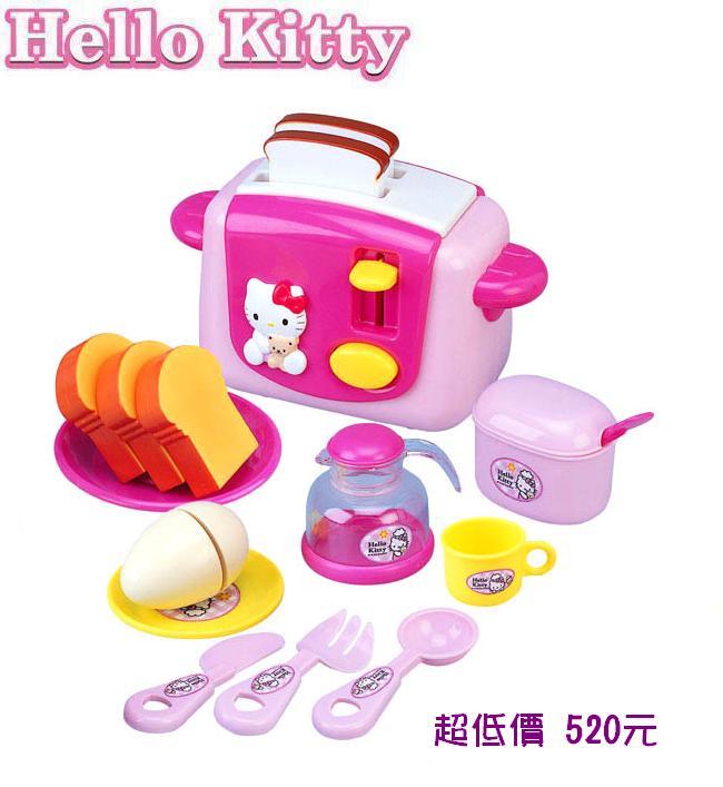 *美馨兒* Hello Kitty -KT烤麵包機 520元