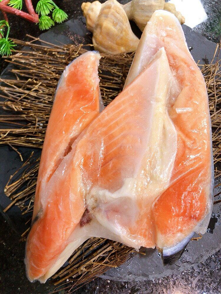 肥嫩薄鹽鮭魚下巴