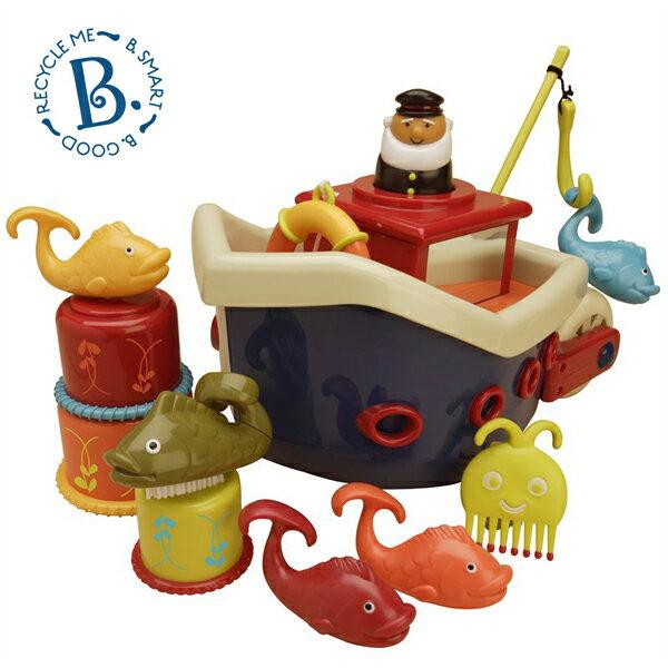 美國 B.TOYS 小船長釣魚組
