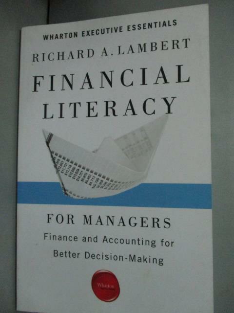 ~書寶 書T1/財經企管_HEI~Financial Literacy for Manag