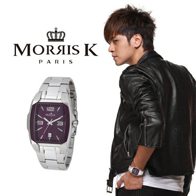 【Morris K】羅志祥代言 魅力無限不鏽鋼流行腕錶 MK10105-IA20