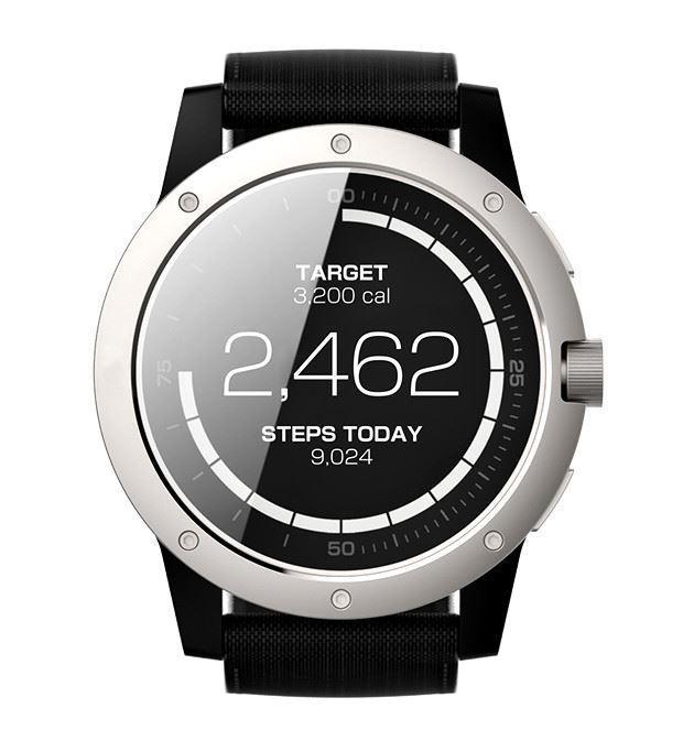 Matrix PowerWatch Body Heat Powered Fitness Tracker Smart Watch