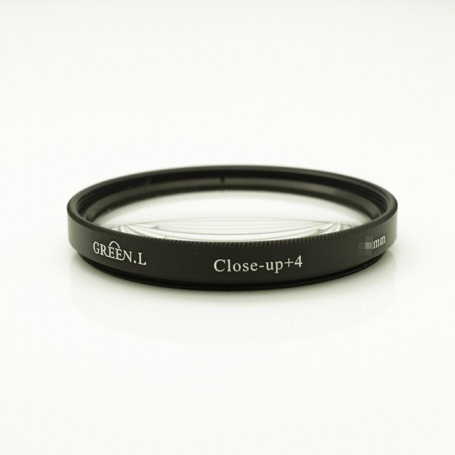 我愛買#Green.L格林爾40.5mm近攝鏡片放大鏡(close-up+4濾鏡)Macro鏡Mirco鏡窮人微距鏡片增距境近拍鏡,可代倒接環接寫環近攝環雙陽環百微Sony索尼16-50m f3.5-..