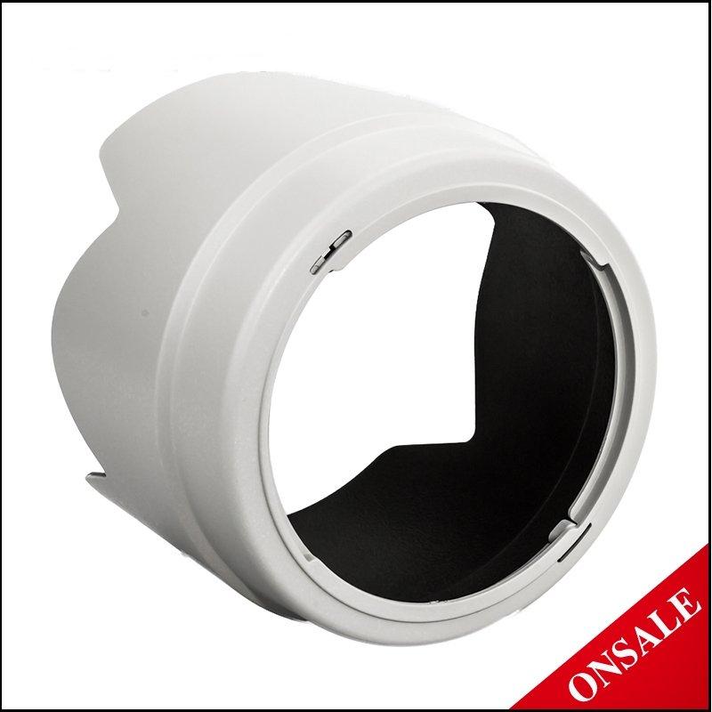 又敗家@ JJC白色蓮花型CANON遮光罩ET-74遮光罩ET74(可反裝,副廠遮光罩,相容佳能正品CANON原廠遮光罩)適EF 70-200mm f/4L f4 IS USM小小白遮光罩