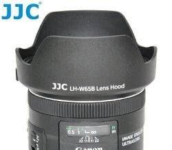 又敗家@JJC副廠花瓣型Canon遮光罩EW-65B遮光罩(可倒裝反扣,相容佳能原廠Canon遮光罩)適EF 24mm 28mm f/2.8 IS USM f2.8 EW65B遮光罩EW-65B太陽罩遮陽罩遮罩lens hood