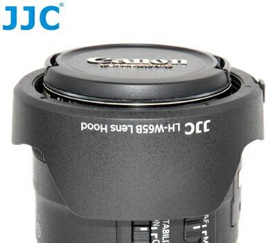 又敗家@JJC副廠花瓣型Canon遮光罩EW-65B遮光罩(可倒裝反扣,相容佳能原廠Canon遮光罩)適EF 24mm 28mm f/2.8 IS USM f2.8 EW65B遮光罩EW-65B太陽罩