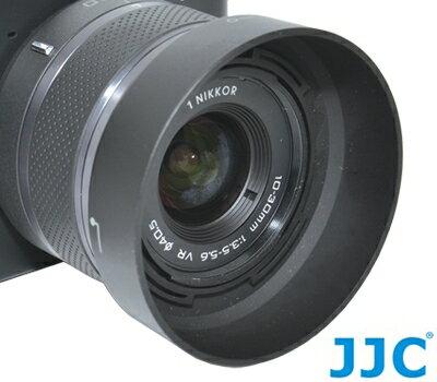 又敗家@JJC副廠NIKON尼康HB-N101遮光罩(同NIKON原廠遮光罩HBN101)適1 NIKKOR 10-30mm f/3.5-5.6 VR f3.5-5.6 V2 V1 J1 J2 nikon1 n1