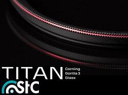 又敗家@STC多層膜薄框Corning康寧Gorilla強化玻璃58mm濾鏡Titan保護鏡Pentax賓得士DA★55mm F1.4 SDM smc 55-300 mm F4-5.8 ED