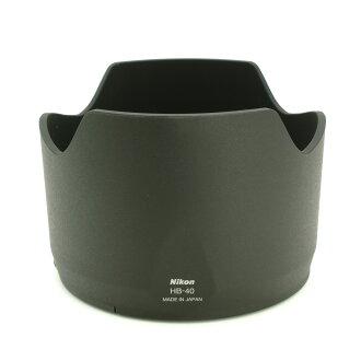 又敗家@原廠正品Nikon遮光罩HB-40遮光罩HB40(可倒裝)適尼康Nikkor AF-S 24-70mm f/2.8G ED太陽罩蓮花罩lens hood f2.8 G鏡皇新大三元小黑