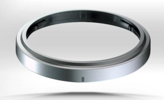 又敗家@原廠OLYMPUS正品裝飾環DR-40(白銀黑3色各1,平輸)Decoration Ring適M.ZUIKO DIGITAL 14-42 mm 1:3.5-5.6 II R 45mm 1:1...