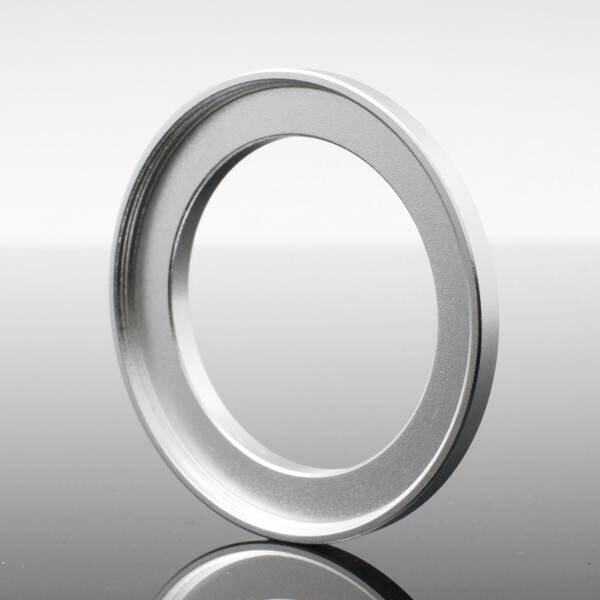 又敗家@銀40.5-52mm濾鏡轉接環(小轉大順接)40.5mm-52mm保護鏡轉接環40.5mm轉52mm濾鏡接環40.5轉52保護鏡轉接環UV保護鏡轉接環sony索尼16-50m f3.5-5.6 Nikon 1 Nikkor 10mm f/2.8 18.5mm f/1.8 11-27.5mm VR 10-30mm 30-110mm f/3.8 P7700 P7800 Pentax Q 01 Standard Prime 02 06 15-45mm 07