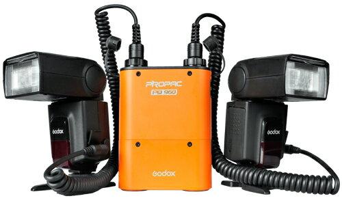 我愛買#神牛Godox機頂閃光燈電池盒PB960+Mx+USB線(開年公司貨)PB960電桶 適Metz美緻美滋mecablitz 64 58 digital AF-2 AF-1 58AF-1 58A..