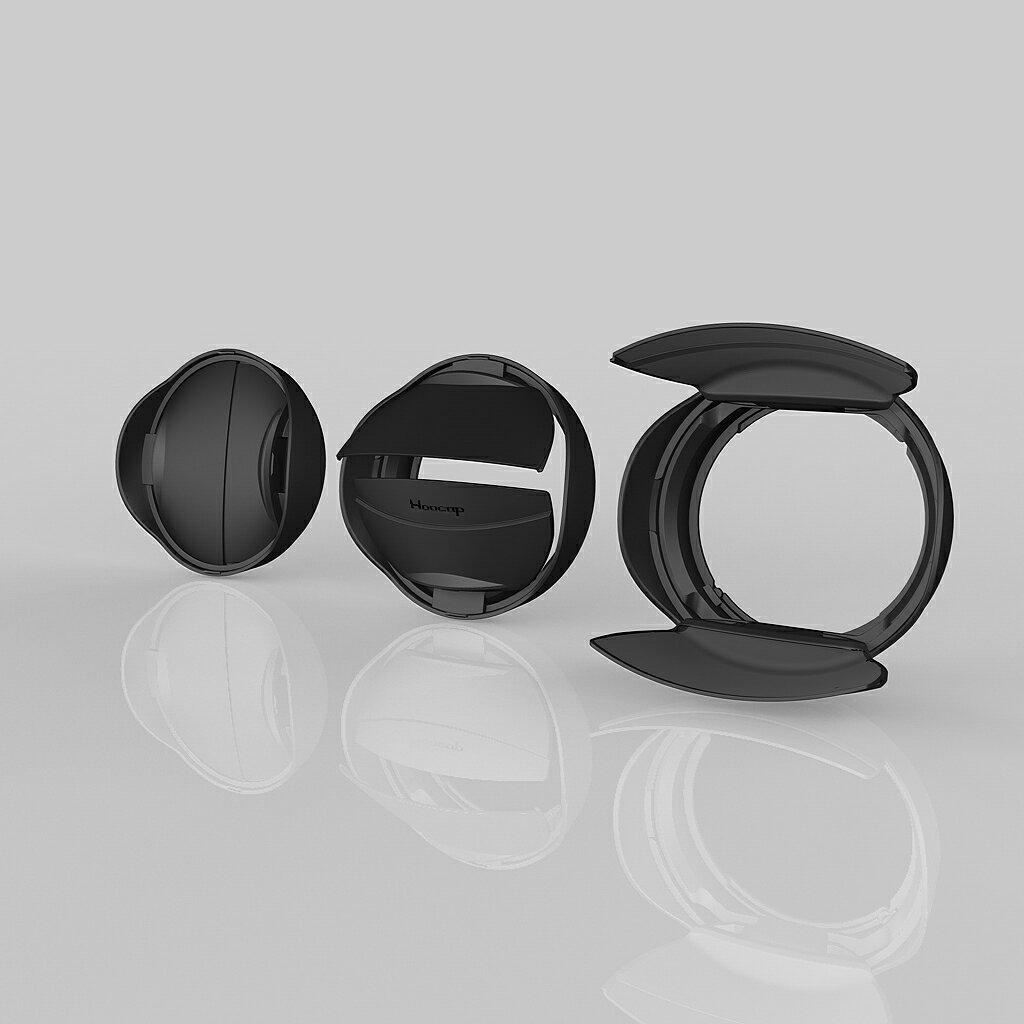 又敗家@台灣品牌HOOCAP半自動鏡頭蓋SH-49A即索尼SONY遮光罩ALC-SH112遮光罩+49mm鏡頭前蓋SA-49二合一組(少入塵.遮陽.保護鏡頭)適E 16mm F2.8 18-55mm ..