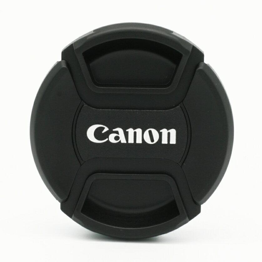 又敗家~Canon副廠鏡頭蓋72mm鏡頭蓋A款附孔繩 相容 Canon鏡頭蓋E~72鏡頭蓋