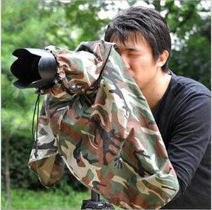 又敗家~韓國MATIN馬田迷彩相機雨衣適單眼相機35mm單反DSLR中片幅 外閃NO 防雨