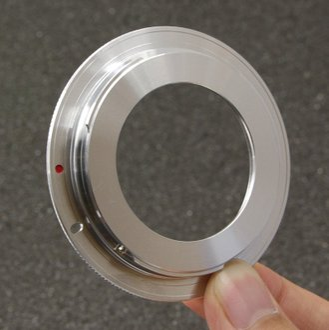 又敗家@ M42轉EOS轉接環(有檔板,M42鏡頭轉接至佳能Canon相機EOS機身即EF接環EF-s接環)M42-EOS轉接環 M42鏡頭轉EOS機身 M42轉CANON相機轉接環 M42轉Cano..