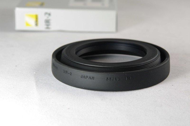 又敗家~ 正品Nikon遮光罩HR~2遮光罩 適Nikkor AF 50mm F1.8 F
