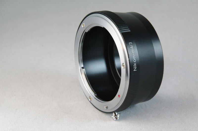 又敗家@尼康Nikon轉M43轉接環 可無限遠合焦 尼康NIKON鏡頭轉接到Micro F