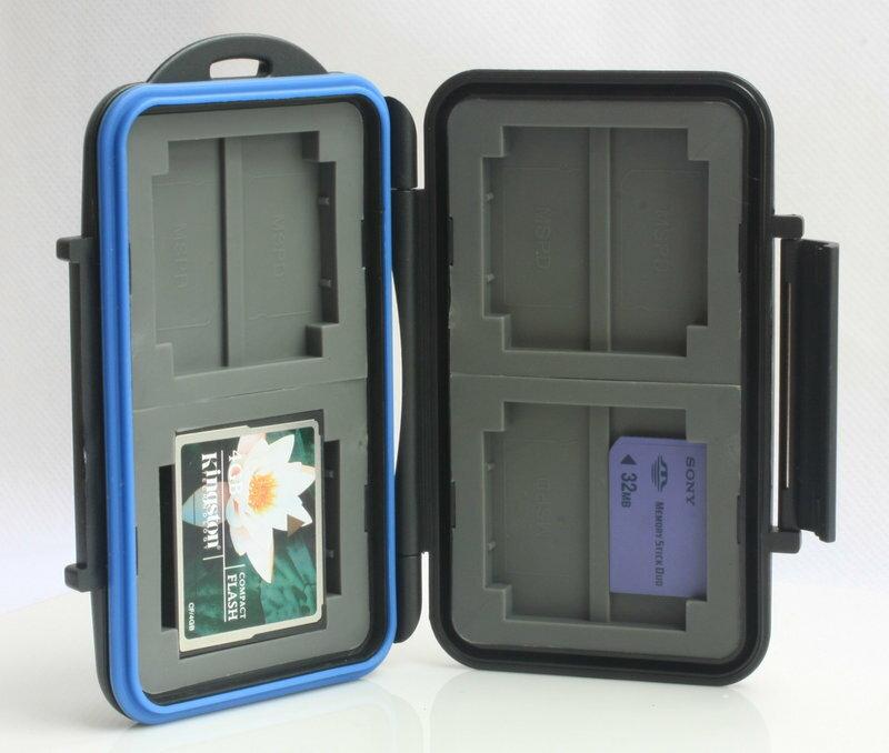 又敗家@黑JJC MSPD.CF記憶卡儲存盒 記憶卡收納盒記憶卡保存盒記憶卡保護盒記憶卡盒CF記憶卡盒Memory Stick PRO DUO MS PD防水防爆