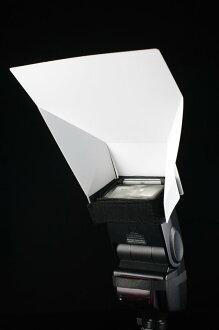 又敗家@JJC通用型外閃反光板PD-4B(小)機頂閃光燈反光板機頂閃燈反光板外閃柔光罩外閃柔光板閃燈柔光板閃光燈反射板 適580EX II 600EX-RT 430Ex-III-RT SB-910 S..