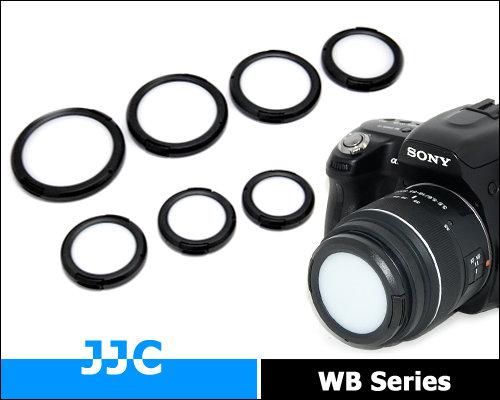 又敗家~ JJC白平衡鏡頭蓋49mm鏡頭蓋52mm鏡頭蓋 附孔 未附繩 49mm白平衡鏡頭
