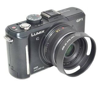 又敗家@國際Panasonic遮光罩Lumix G 14mm f2.5 20mm f1.7遮光罩( uWinka ,非原廠, 46mm螺紋) LH-46GF適 ASPH GF1 GF2 GH2 G3 ..