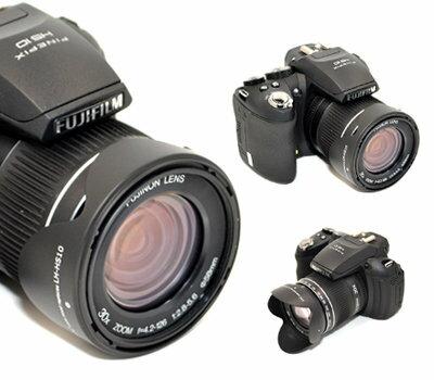 又敗家@JJC副廠Fujifilm遮光罩LH-HS10遮光罩LHHS10(副廠遮光罩,可反扣同富士Fujifilm原廠遮光罩LHHS10)適FinePix HS50  HS35  HS33  HS28