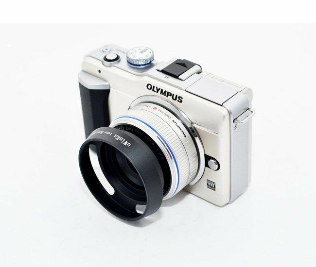 又敗家@螺牙37mm仿徠卡型Leicai遮光罩(斜口內凹)適OLYMPUS MZD 17mm f2.8遮光罩餅乾鏡(uWinka副廠遮光罩ULH-37EP,非Olympus原廠遮光罩)M43 M4/3 PEN E-P3 E-PL3 OM-D EM-5 OMD EM5 EPM1 M.Zuiko Digital
