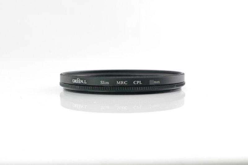 又敗家~Green.L防水16層多層膜58mm偏光鏡^(薄框偏光鏡^)MC~CPL偏光鏡適