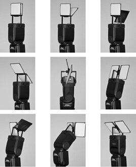 又敗家@ RESSlite VerteX偉特雙光反射板(多角度反光板.兩片雙面霧面/亮面適高天花板和狹窄空間婚攝)多功能反光板機頂閃燈反光板機頂閃光燈反光板外閃反光板閃燈柔光板外閃反光版 適Canon..