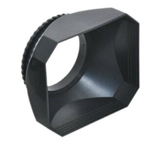 又敗家@ JJC 37mm方形螺紋遮光罩螺口DV遮光罩適Olympus MZD 14-42mm f3.5-5.6 II R 17mm f2.8 Panasonic PZ 14-42mm F3.5-5...
