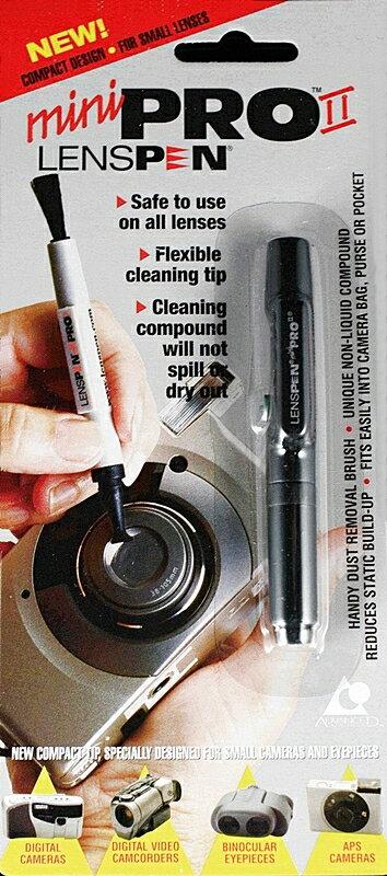 又敗家~加拿大LENSPEN MiniPro II鏡頭清潔筆 平輸 附軟鬃毛刷清灰塵 ca