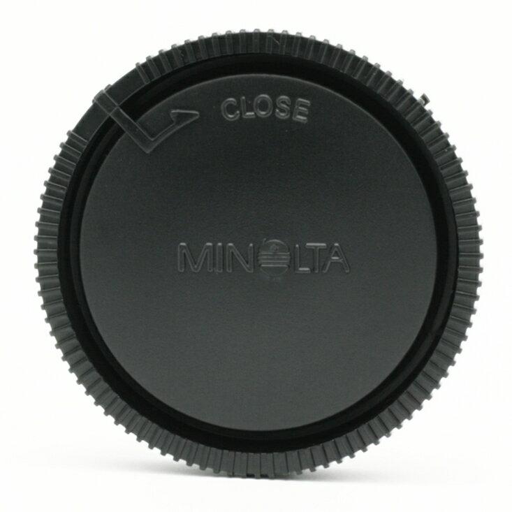 我愛買# Konica-Minolta鏡頭後蓋MA鏡頭後蓋適alpha接環(副廠鏡頭後蓋,相容Minolta原廠鏡頭後蓋R-1000後蓋R1000)Minolta後蓋alpha後蓋Minolta鏡頭保..