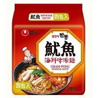 韓國泡麵推薦到農心魷魚海鮮味湯麵496g【愛買】就在愛買線上購物推薦韓國泡麵