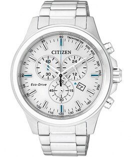 CITIZEN星辰AT2310-57A未來風光動能計時腕錶白面43mm
