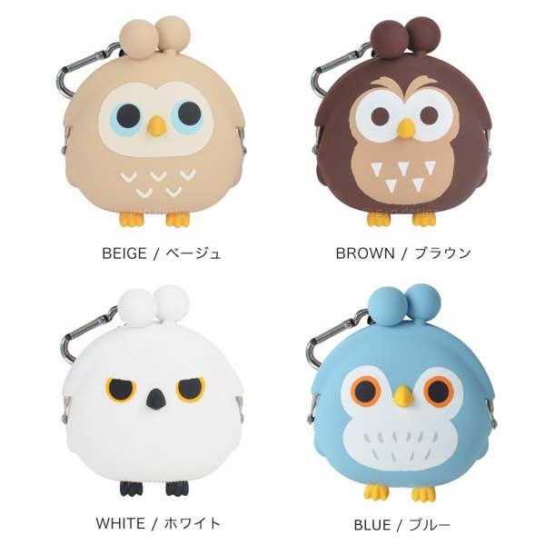日本p+g design / mimi POCHI矽膠貓頭鷹零錢包 / 3dowl。共5色-日本必買 日本樂天代購(1382*0.1) 2