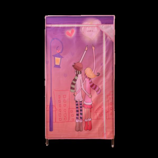 【薇拉】簡易組裝時尚防塵衣櫥