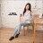 格子舖*【AAF107】(女款35~39) 日韓雜誌推薦 經典百搭基本款牛仔 綁帶4CM增高厚底帆布鞋 2色 1