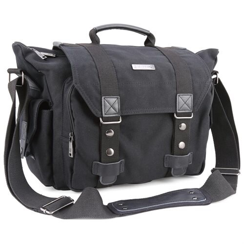 32dc190811 SLR Camera Bag Evecase Large Canvas Messenger SLR DSLR Camera Shoulder Bag  with Rain Cover