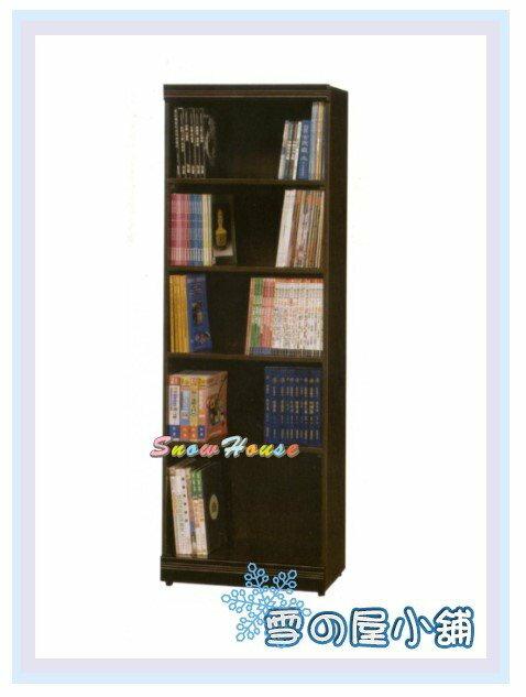 ╭☆雪之屋居家生活館☆╯AA552-11 C-07 2x6胡桃開放書櫃/展示櫃/收納櫃/置物櫃