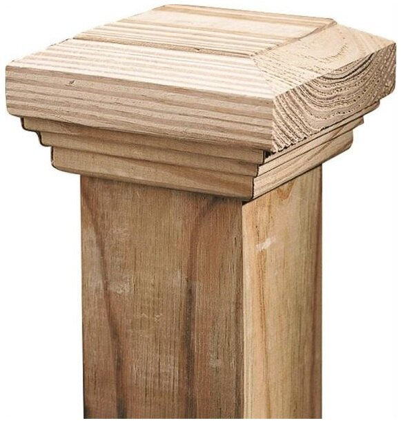 """Universal Forest Products 106086 Fancy Boxed Post Cap, 5-1/2"""" 0"""