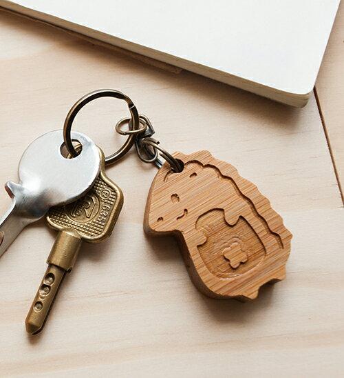 可愛刺蝟 - 鑰匙圈