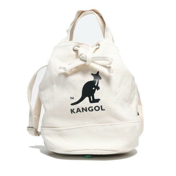 【❤️抗疫起來❤️滿額現折$200】KANGOL 多色 圓筒袋 帆布 英國 (布魯克林) 69253007-