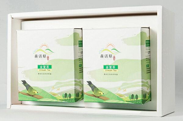 森活原-阿里山高山茶禮盒-金萱茶(2入) - 原片茶包