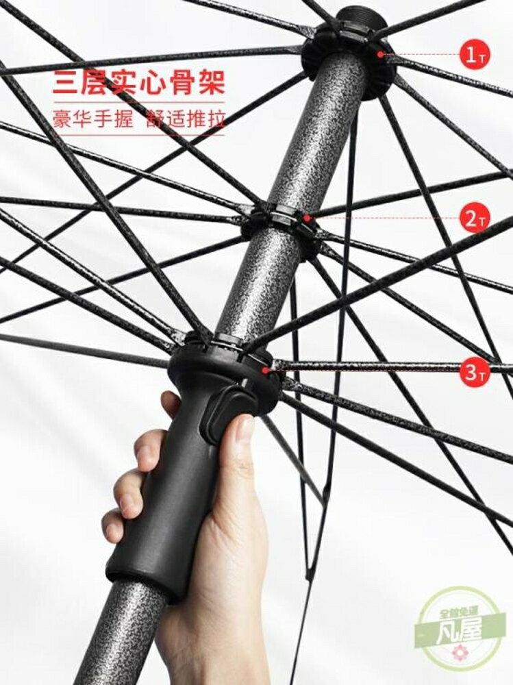 雨傘 太陽傘遮陽傘大雨傘大型戶外擺攤大號超大庭院商用廣告雨棚防雨-快速出貨