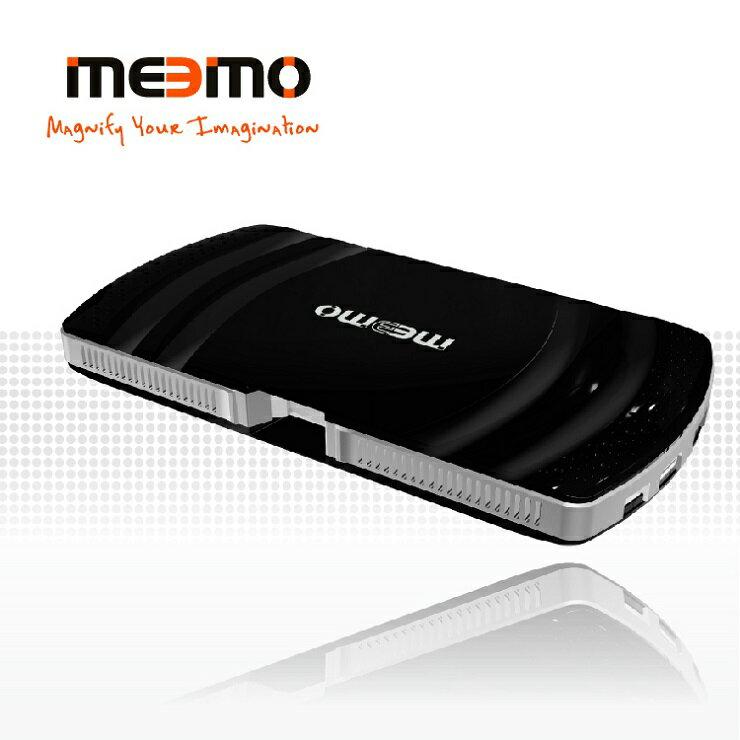 <br/><br/>  【Meemo 地表最強機能】雷射微型投影機 - 耀岩黑/ 美國品牌 台灣製造<br/><br/>
