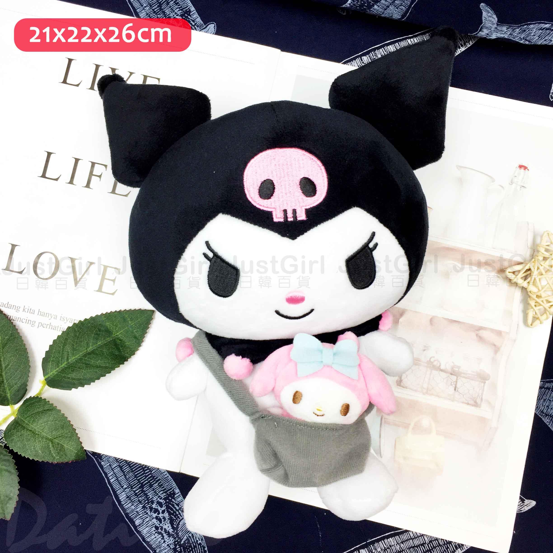 絨毛娃娃附小玩偶-KITTY MELODY 酷洛米 凱蒂貓 美樂蒂 三麗鷗 Sanrio  日本進口