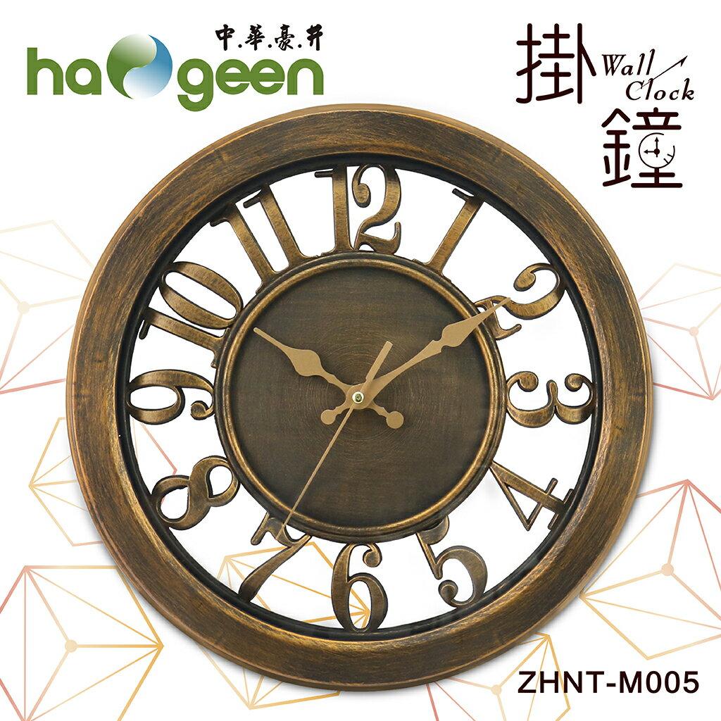 中華豪井靜音掃描掛鐘(12吋)ZHNT-M005