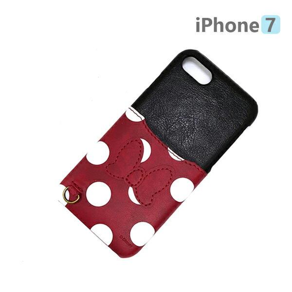 【日本 PGA-iJacket】UNISTYLE Disney 授權商品 iPhone 7 專用手機殼 - Minnie 米妮